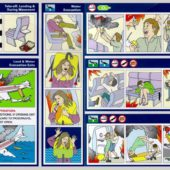 Tyler Durden Fight Club Airplane Safety