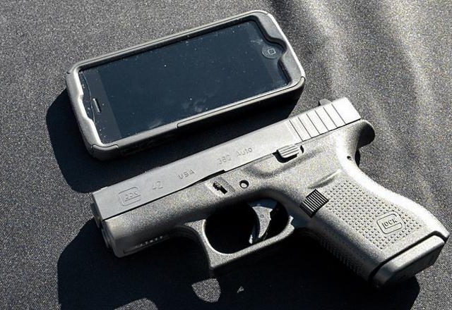 Glock vs. iPhone